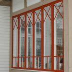 Fönster Med Krysspröjs